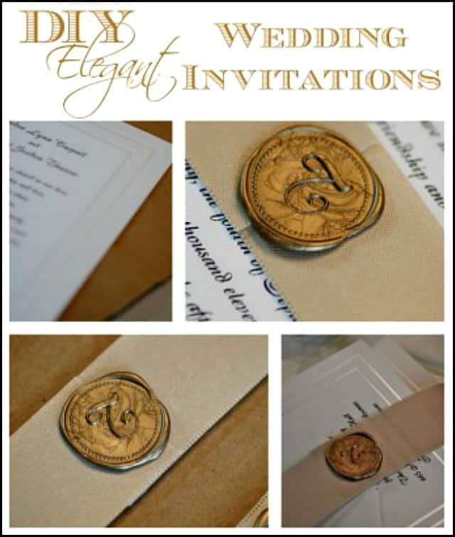 How to make elegant wedding invitations on a budget