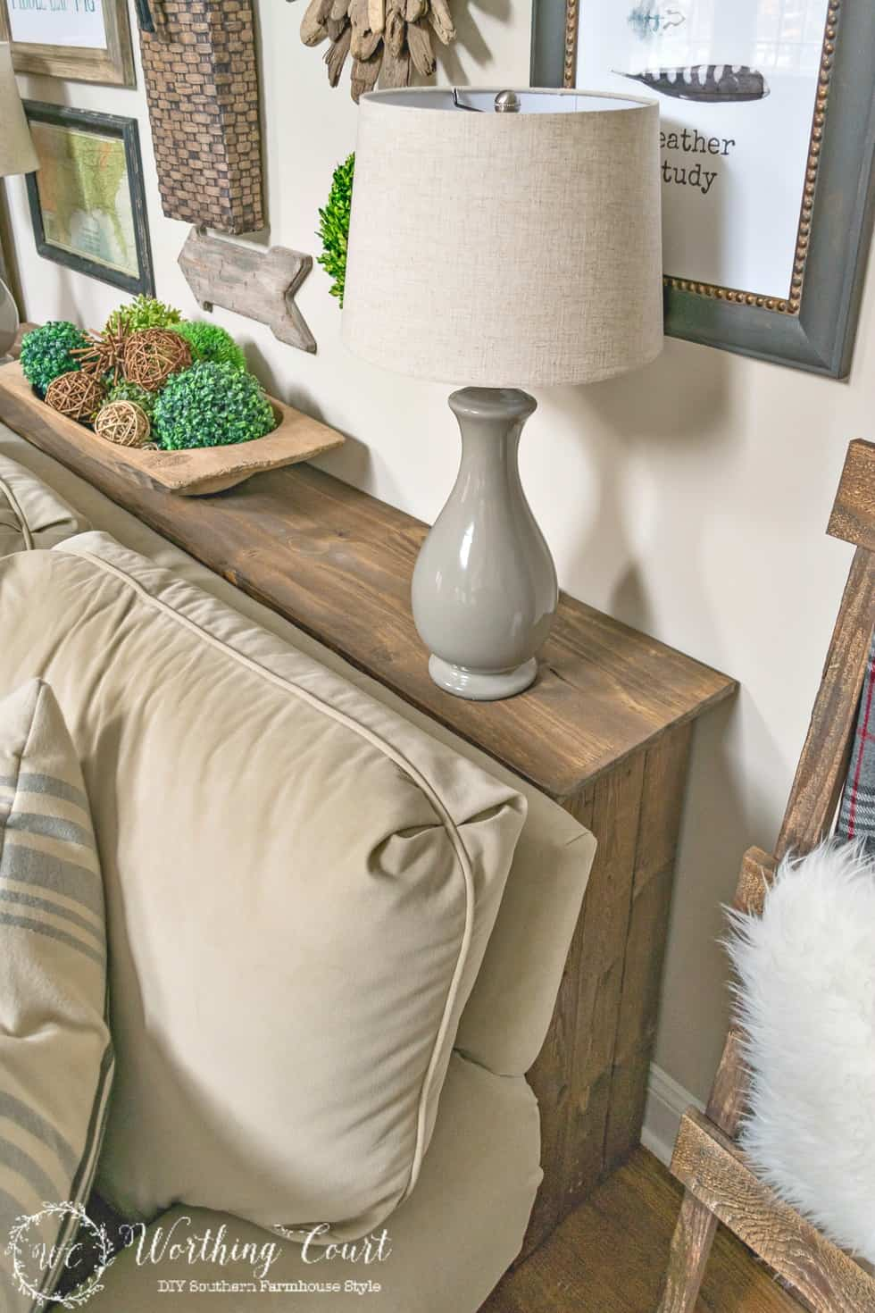 title | Sofa Table Behind Couch