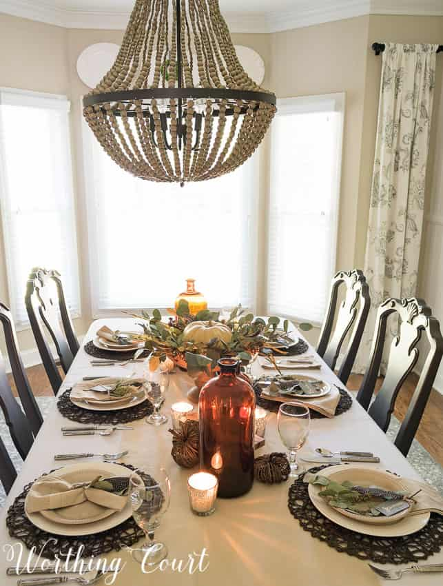 How To Set A Casual But Elegant Thanksgiving Table Worthing Court