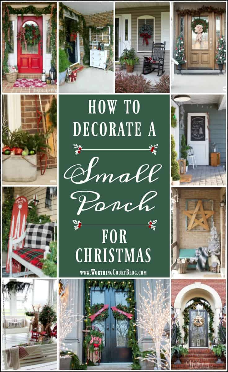 Christmas Decorating Ideas For Small Porches