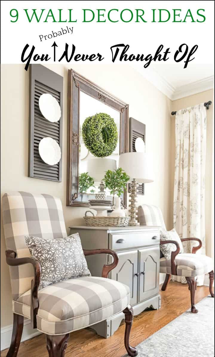 Wall Decor Ideas You May Never Have Thought Of | Worthing ... on Pinterest Wall Decor  id=24613