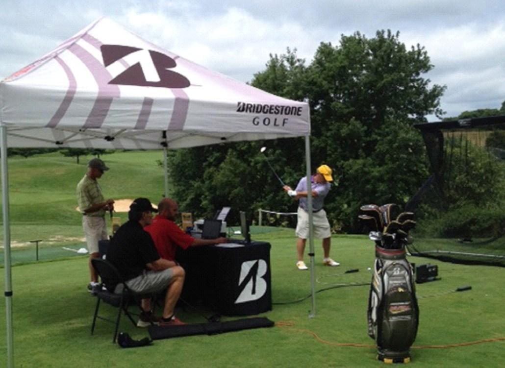 Bridgestone ball fitting worthington manor golf club