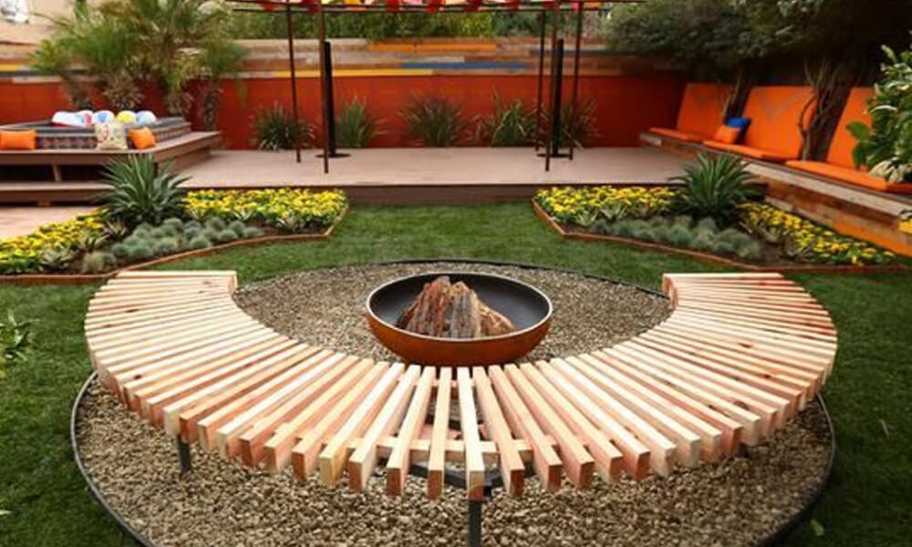 28 Backyard Seating Ideas | Worthminer on Back Garden Seating Area Ideas id=28594