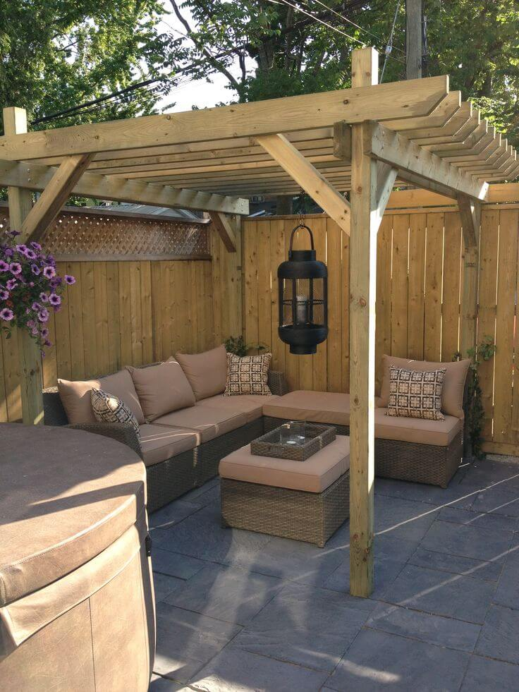 28 Backyard Seating Ideas | Page 21 of 28 | Worthminer on Back Garden Seating Area Ideas  id=65641