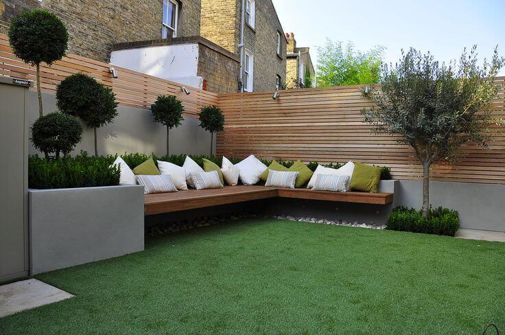 28 Backyard Seating Ideas   Worthminer on Back Garden Seating Area Ideas id=92373