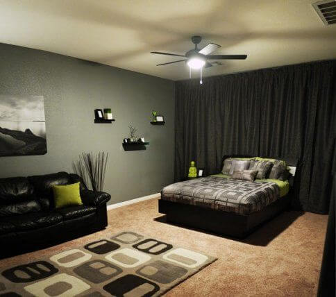 22 Great Bedroom Decor Ideas for Men | Page 10 of 22 ... on Bedroom Ideas For Men Small Room  id=56694