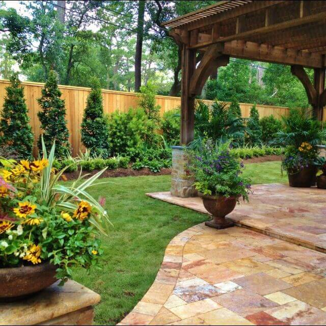 Check out this backyard landscaping idea and more great ... on Back Garden Patio Ideas  id=93947