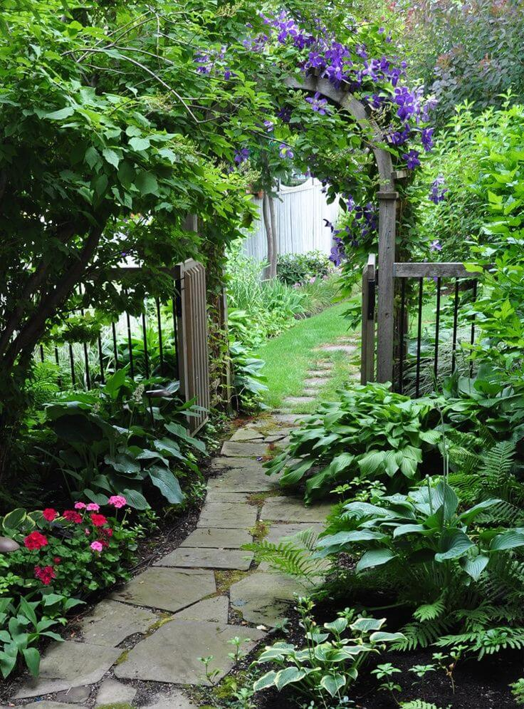 27 Easy and Cheap Walkway Ideas for Your Garden on Side Yard Walkway Ideas  id=95632