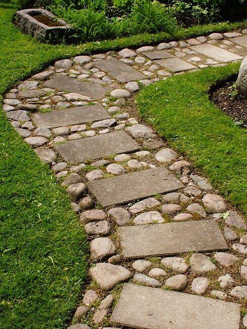 Easy walkway idea on Backyard Walkway Ideas id=40526