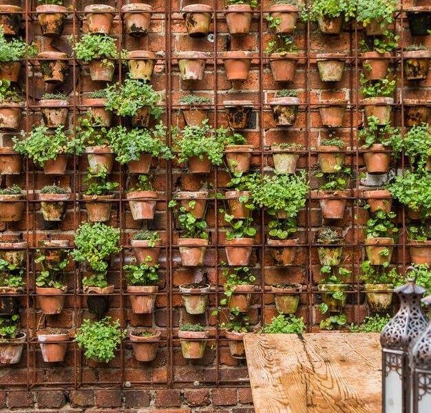 22 DIY Vertical Garden Wall Ideas | Worthminer on Garden Patio Wall Ideas id=69002