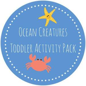 Ocean Printables for Toddlers