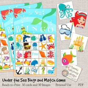 Printable Summer Bingo for Kids