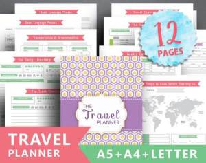 Printable Travel Planner for Summer Vacation
