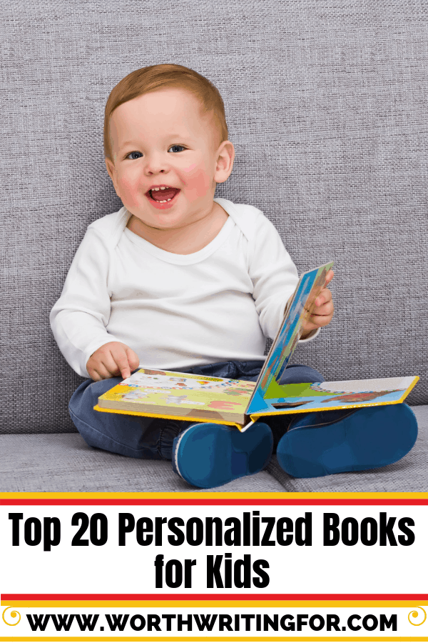 Top 20 Personalized Books for Kids. Unique gift for a new baby or toddler gift. Develop a lifetime love of reading with a special book just for your child!