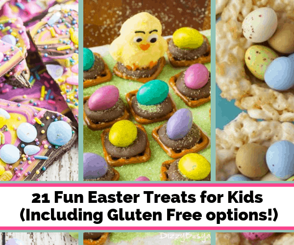21 Cute & Easy Easter Treats for Kids