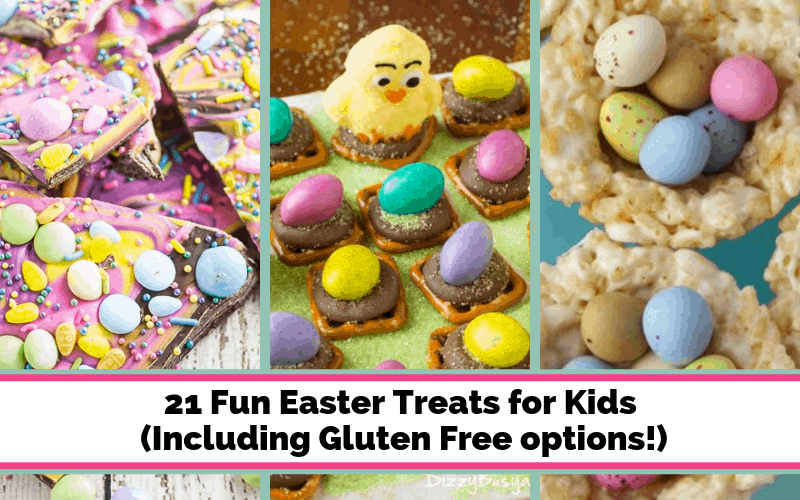 Easter Treats for Kids that are fun to make and eat! Adorable Easter desserts!