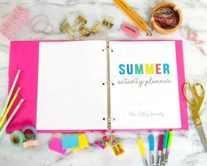 Summer Planning Binder for Moms