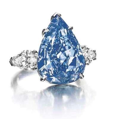 Hasil gambar untuk The Winston Blue Diamond Ring