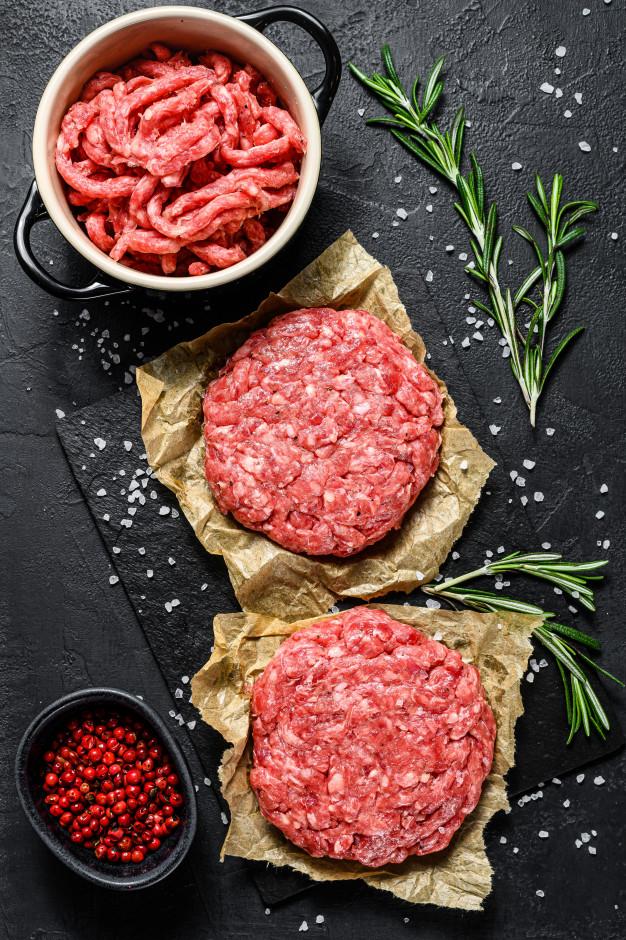 Minced Beef Burgers