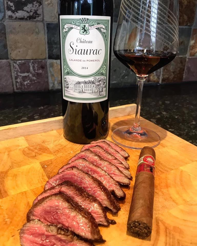Wine, Cigar and Steak