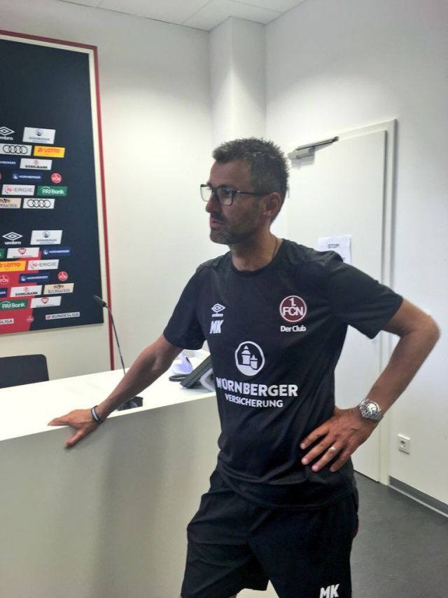 Der Trainer ist beim Club schon eine weiter Strecke gegangen. (Foto: Florian Zenger)