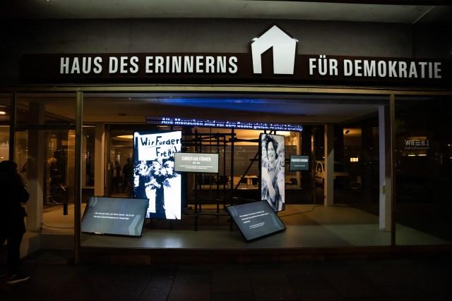 Das Haus des Erinnerns in der Mainzer Flachsmarktstraße. (Foto: Clemens Hess)