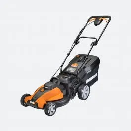 """40V Cordless 17"""" Lawn Mower with Mulching Capabilities ..."""