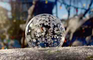Art Of Freezing Bubbles