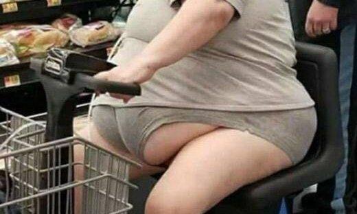 obese lady