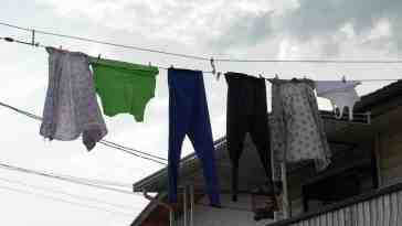 stealing neighbors underwear on line
