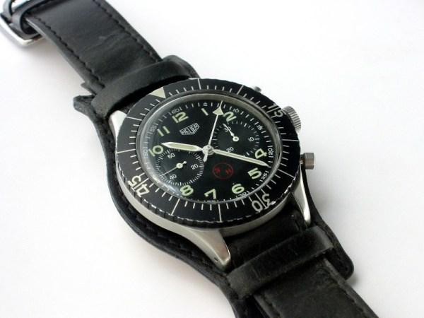 Heuer Bundeswehr Flyback Chronograph