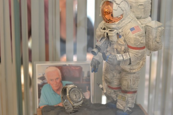 McGlynn's Captain Eugene Cernan display