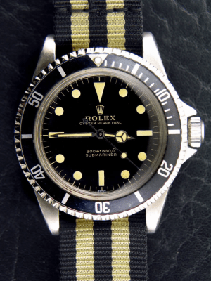 5513 White Swiss. Photo courtesy of Rolex Passion Report.