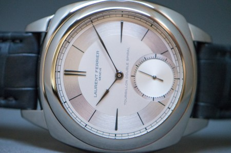 Laurent Ferrier Galet Square Double Spiral Tourbillon