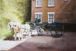 Horse & carriage