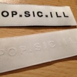 Embossed Woven Clothing Labels