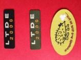 Woven label, Laser Cut
