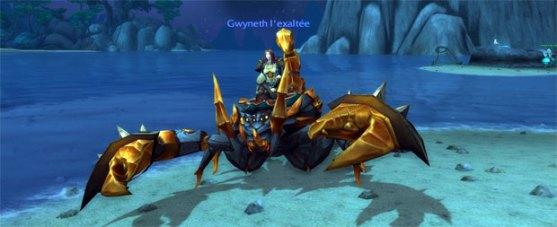 Faction Klaxxi - scorpion