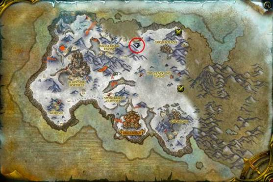 wod-donjon-mine-masse-sanglante-map-entree