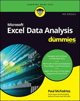Excel Data Analysis For Dummies, 4th Edition - Free PDF ...