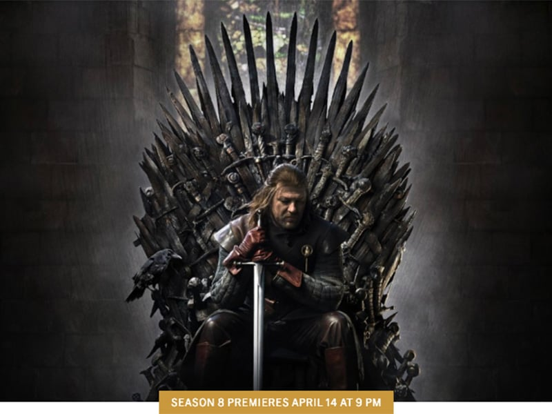 Can Keyword Searches determine the outcome of Game of Thrones?