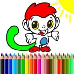 BTS Monkey Coloring