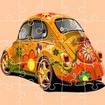 VW Beetle Jigsaw