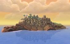 Tartaruga Shen-zin, a Ilha Vagante [Wandering Isle]