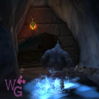 Caminho para a parte final da caverna!