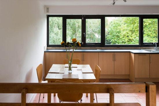 1970s brutalism: Neave Brown-designed duplex apartment on ...