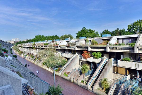 1970s brutalism: Neave Brown-designed brutalist apartment ...