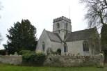 Die Kirche von Minster Lovell