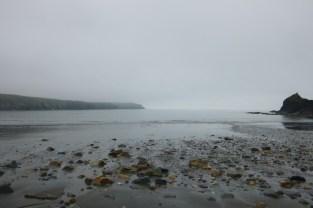 Ein ruhiger Morgen in Abereiddy
