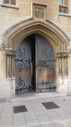 Der Eingang zu Balliol College